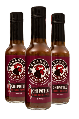 CHIPOTLE HOT SAUCE SET OF 3