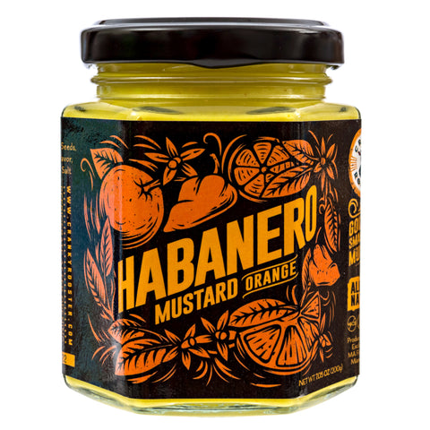 SMALL BATCH HABANERO-ORANGE MUSTARD