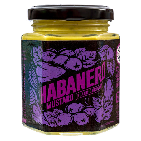 SMALL BATCH HABANERO-BLACK CURRANT MUSTARD
