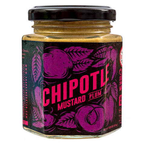 SMALL BATCH CHIPOTLE-PLUM MUSTARD