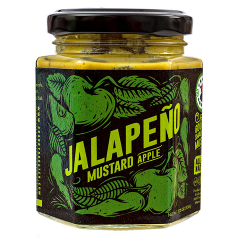 SMALL BATCH JALAPENO-APPLE MUSTARD