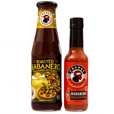 HABANERO SET:KETCHUP & HOT SAUCE