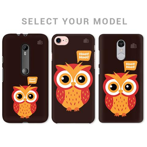 HOOT HOOT PHONE COVER - Mistics