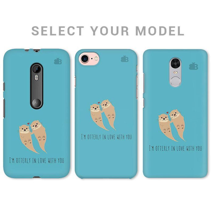 OTTERLY LOVE PHONE COVER - Mistics