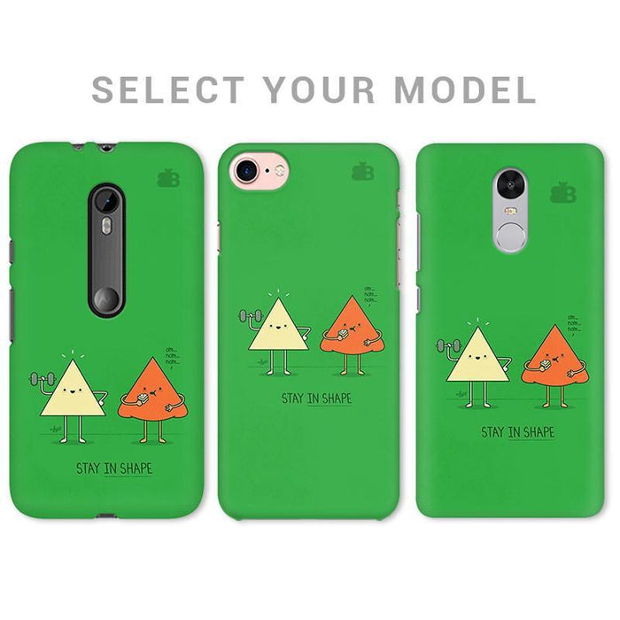 STAY IN SHAPE PHONE COVER - Mistics