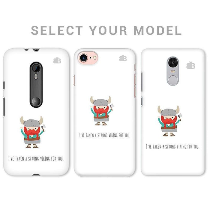 STRONG VIKING PHONE COVER - Mistics