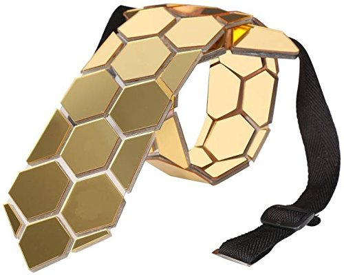 Limited Edition Reversible Honeycomb Emirates Hex Tie (Matte+Shine) - Mistics