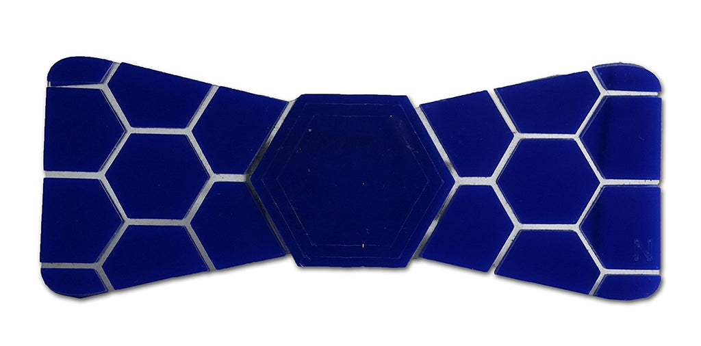 Limited Edition  Blue Shine Hex Bow Tie - Mistics