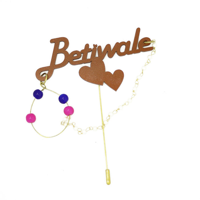 Betiwale Brooch (Pack of 10)  - Coco Chanel - Mistics