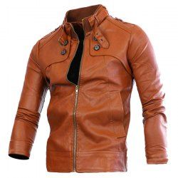 Leather Jacket - Mistics