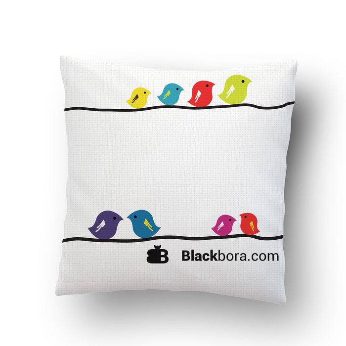 Birds Cushion Cover - Mistics