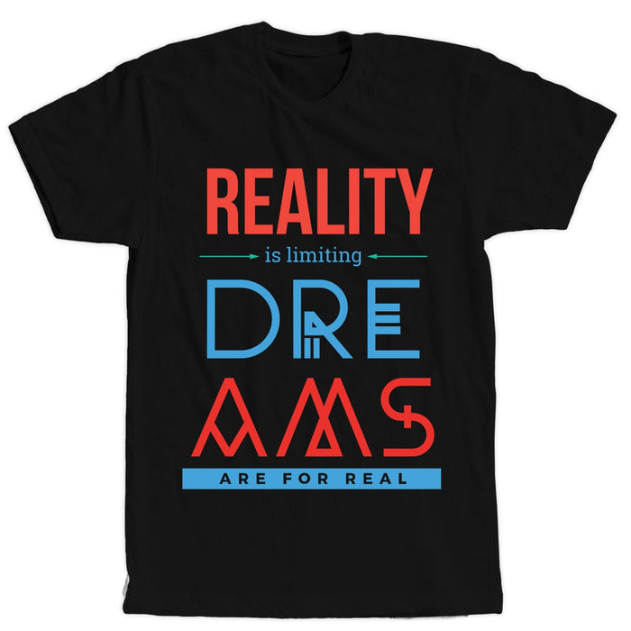 Dreams Black T-Shirt - Unisex - Mistics