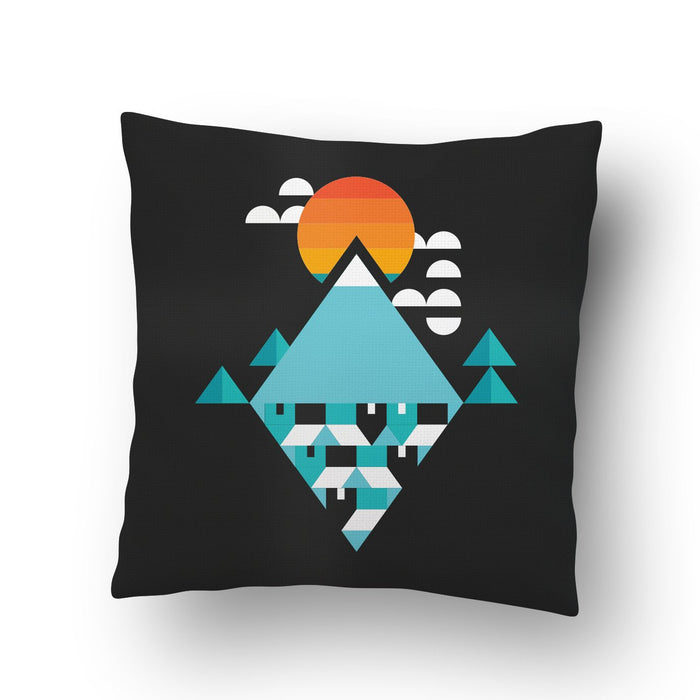 Landscape Abstract Cushion Cover - Mistics