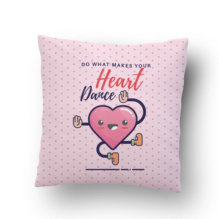 Make Your Heart Dance Cushion Cover - Mistics