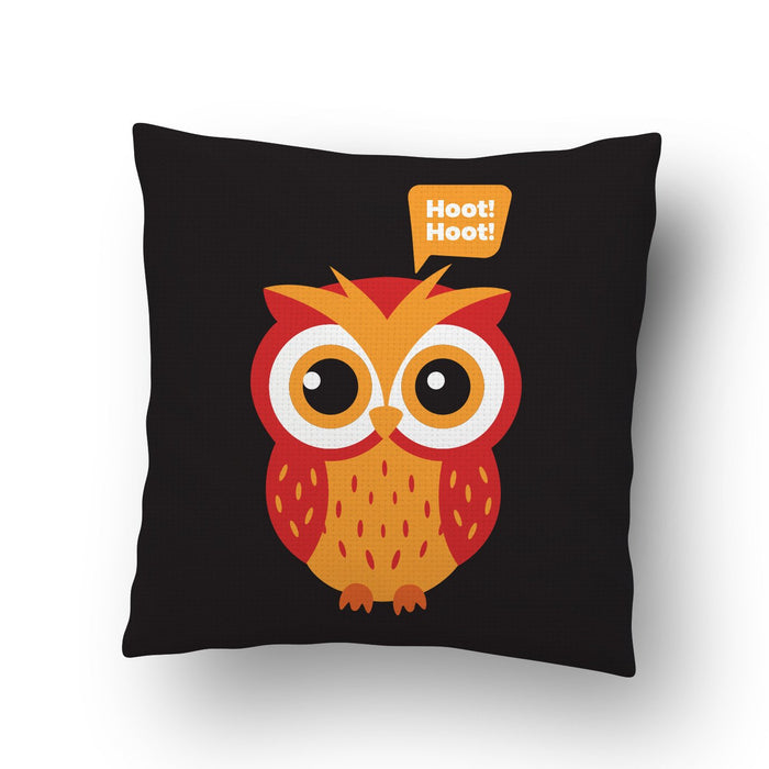 Hoot Hoot Cushion Cover - Mistics