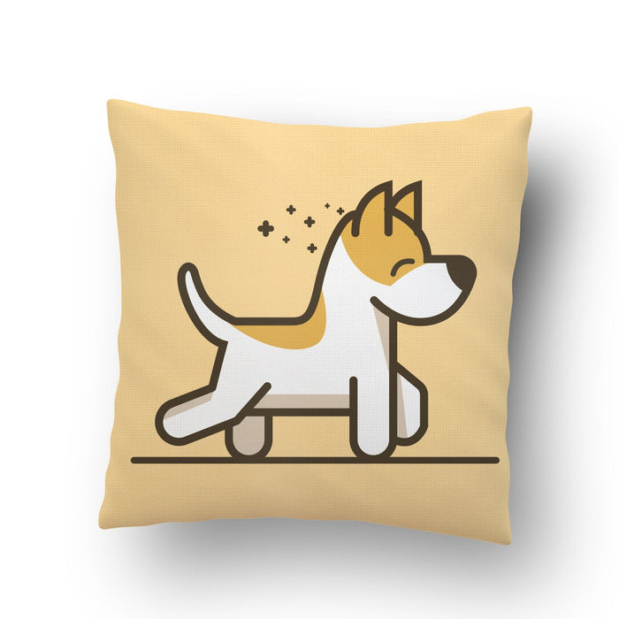 Dog Walking Cushion Cover - Mistics
