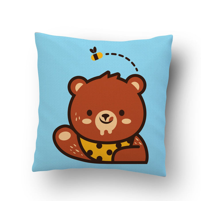 Bear Loves Honey Cushion Cover - Mistics