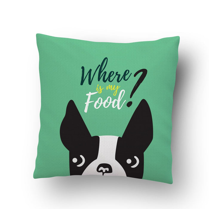 Dog Food Cushion Cover