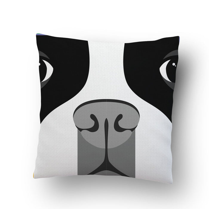 Dog Face Cushion Cover