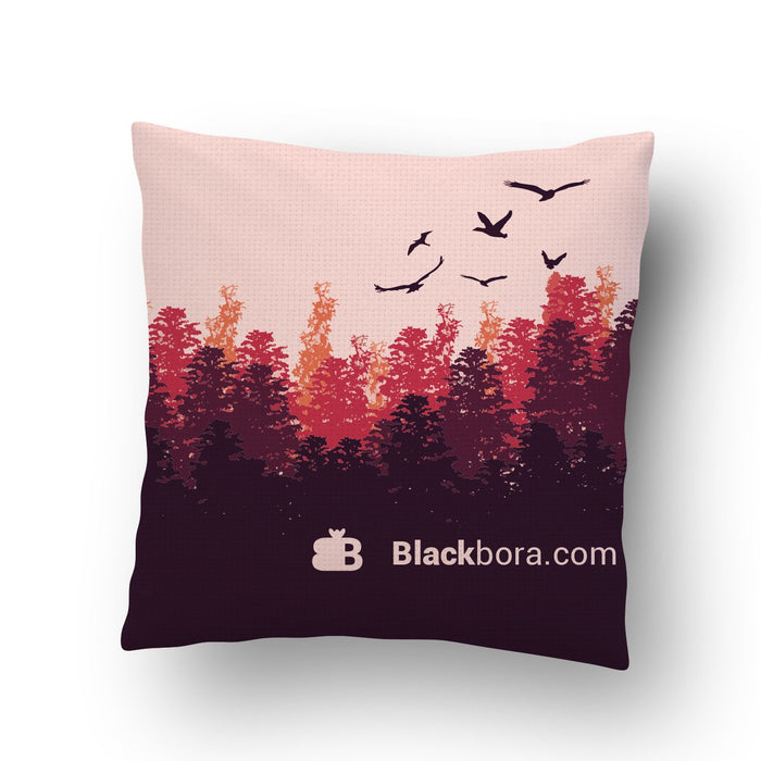 Forest Cushion Cover - Mistics