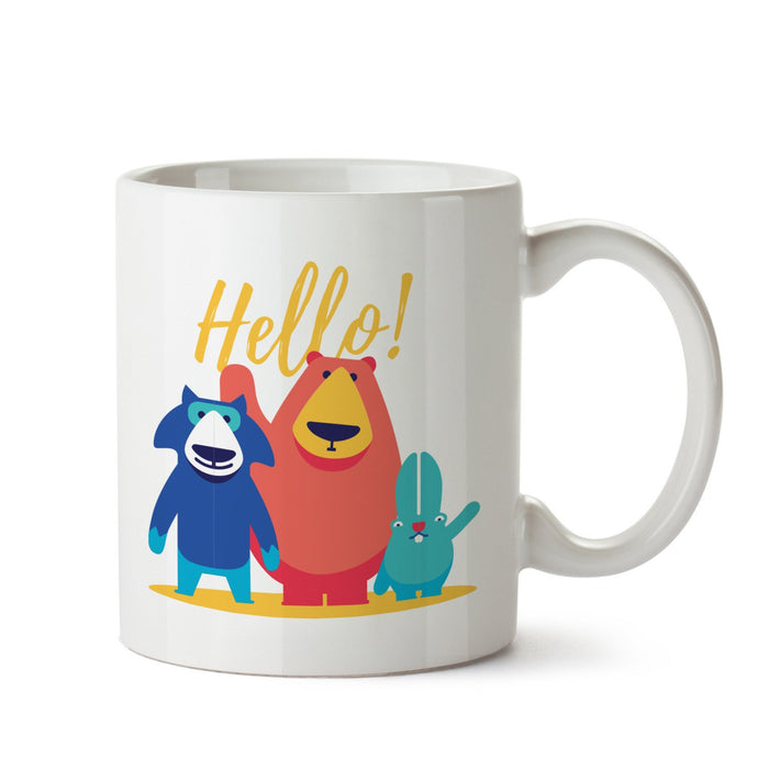 Hello White Coffee Mug - Mistics