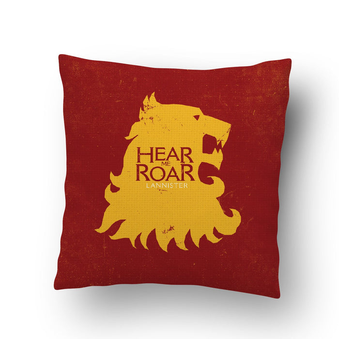 Hear Me Roar Cushion Cover - Mistics