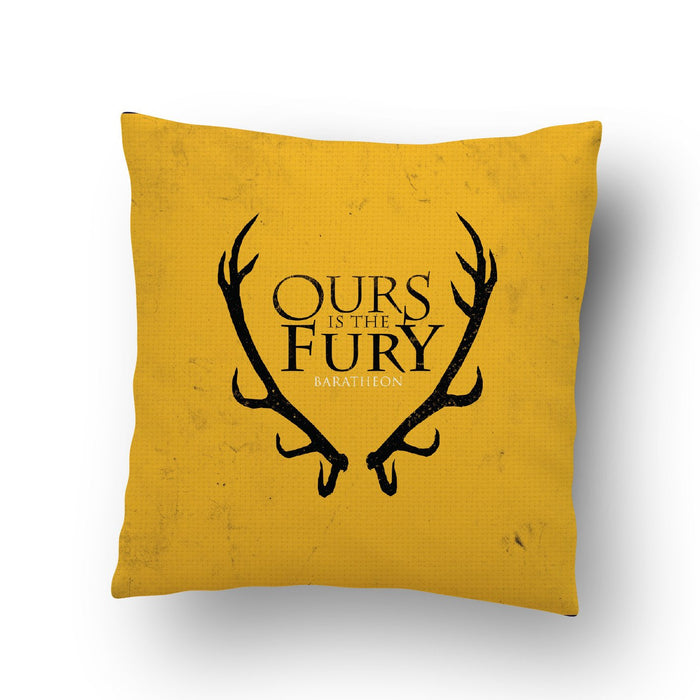 Ours Is The Fury Cushion Cover - Mistics