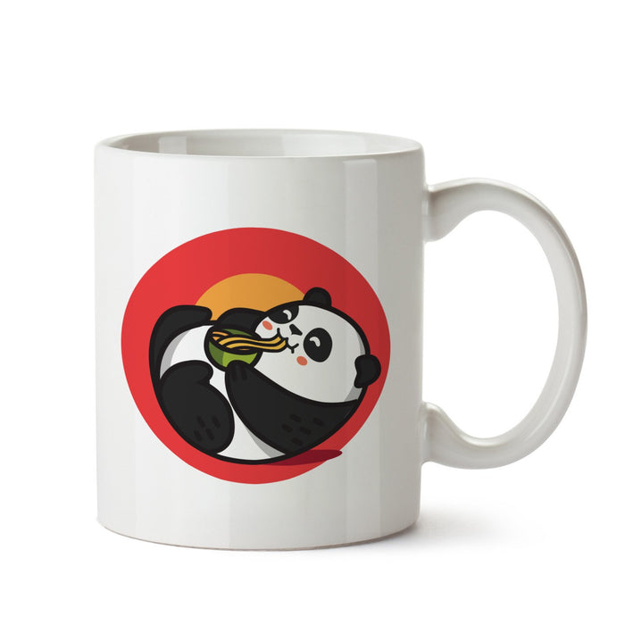 Panda Noodles White Coffee Mug