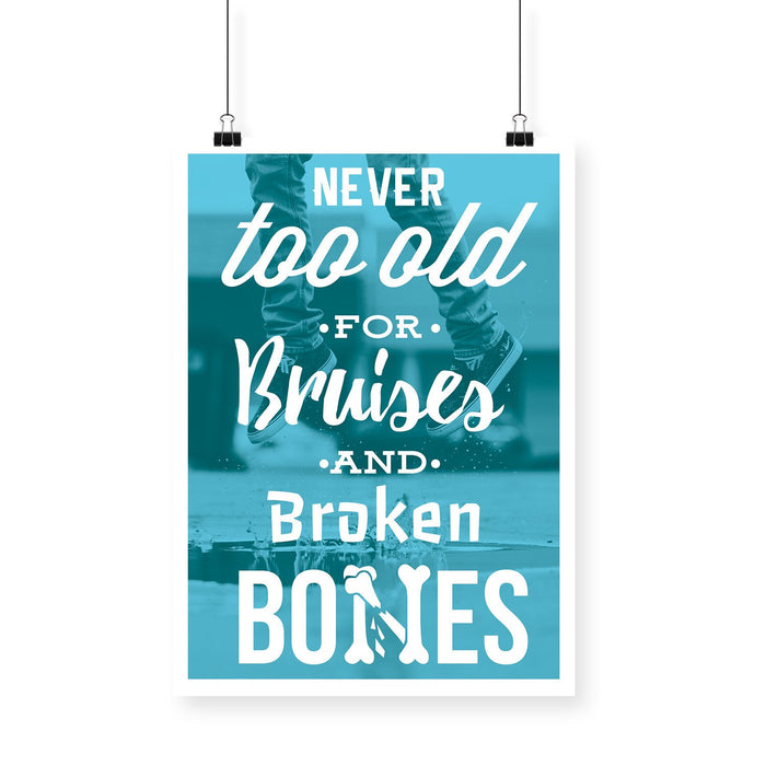Never too Old Blackbora Poster - Mistics