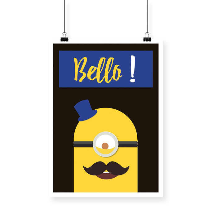 Minion Bello Blackbora Poster - Mistics