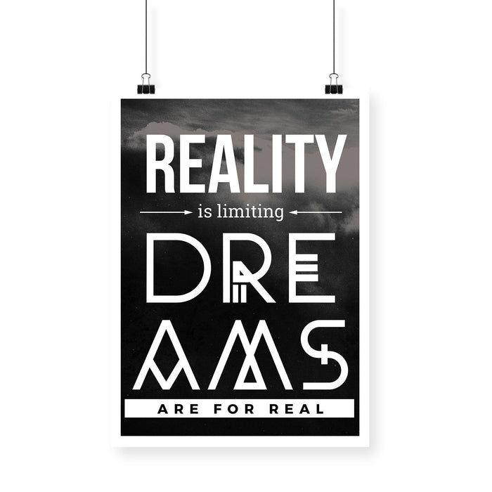 Reality is Limiting Black BlackBora Poster