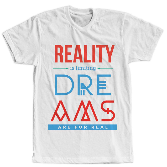 Dreams White T-Shirt - Unisex - Mistics