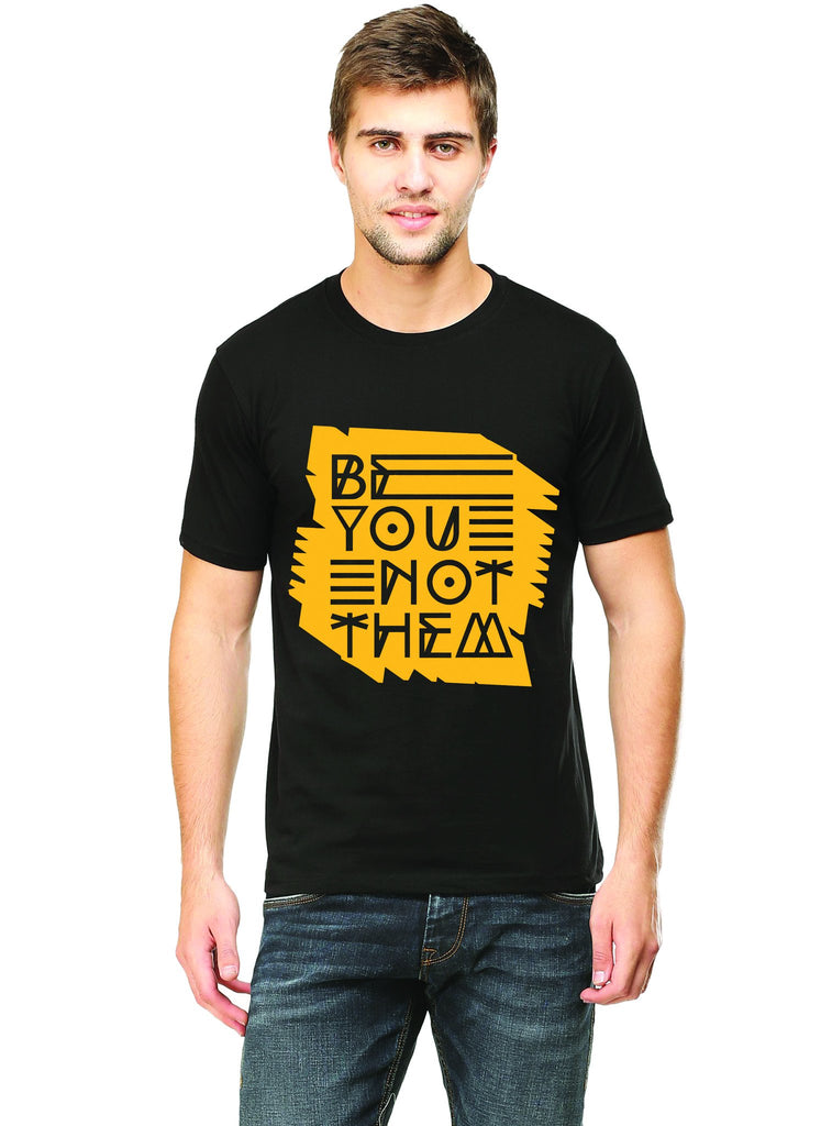 Be You Typography T-Shirt - Mistics