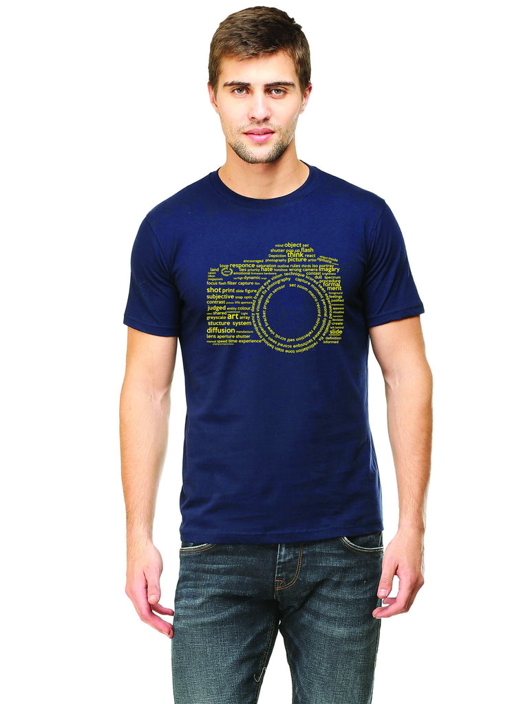 Camera Typography T-Shirt - Mistics
