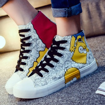 Simpsons Casual Shoes - Mistics