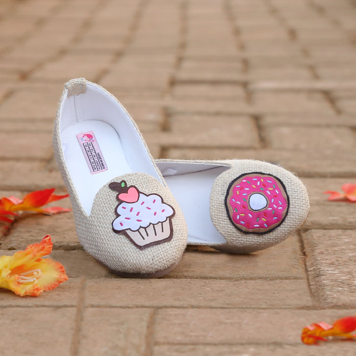 Jute Loafers For Girls - Mistics