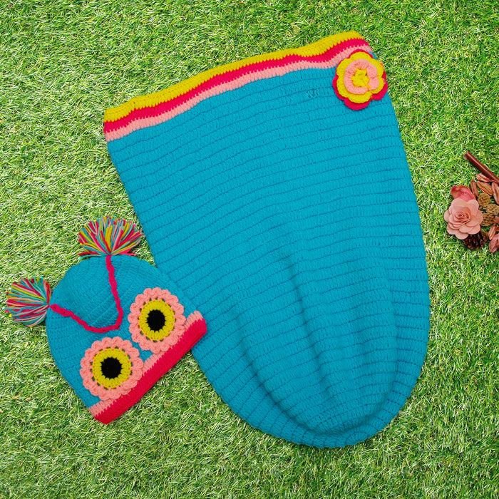 Pure Wool Adorable Sleep Sack For Baby Girls - Mistics