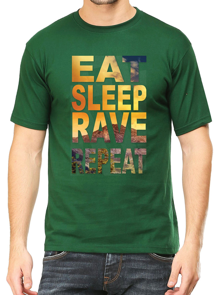 Eat Sleep Rave Repeat T-Shirt - Mistics