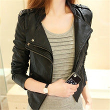 Slim Leather Jacket - Mistics