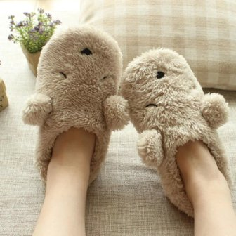 Plush Slippers - Mistics