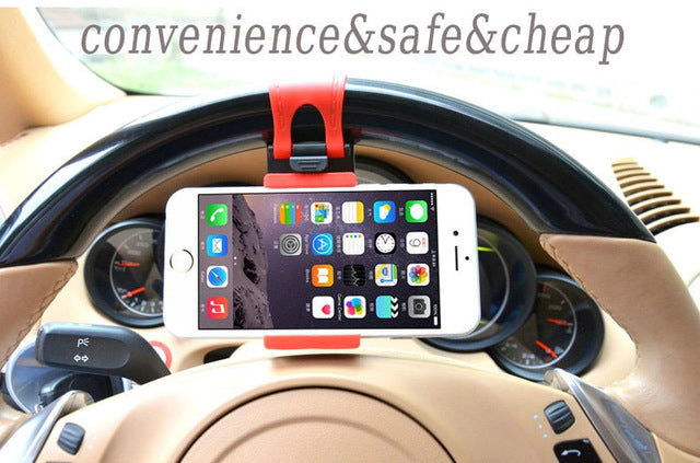 Steering Wheel Holder for Phones - Mistics