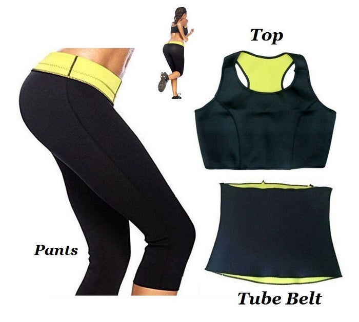 Hot Shaper Complete Set for Women (Pants+Belt+Vest) - Mistics