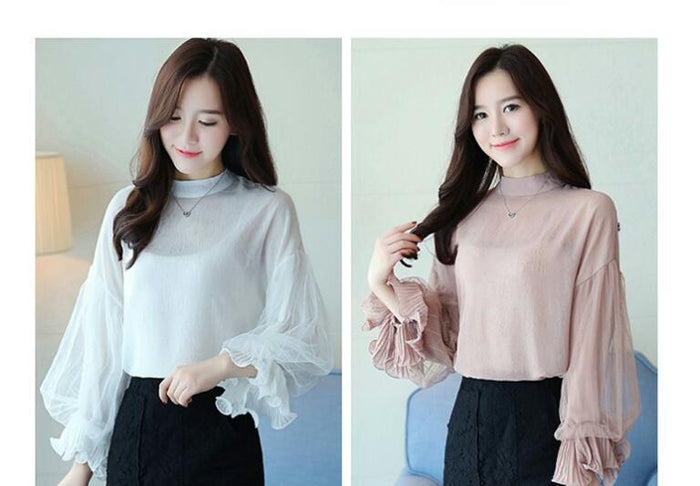 Cold Sleeves Top - Mistics