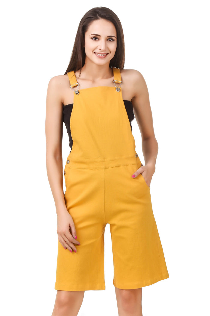 Cropped Dungaree - Mistics