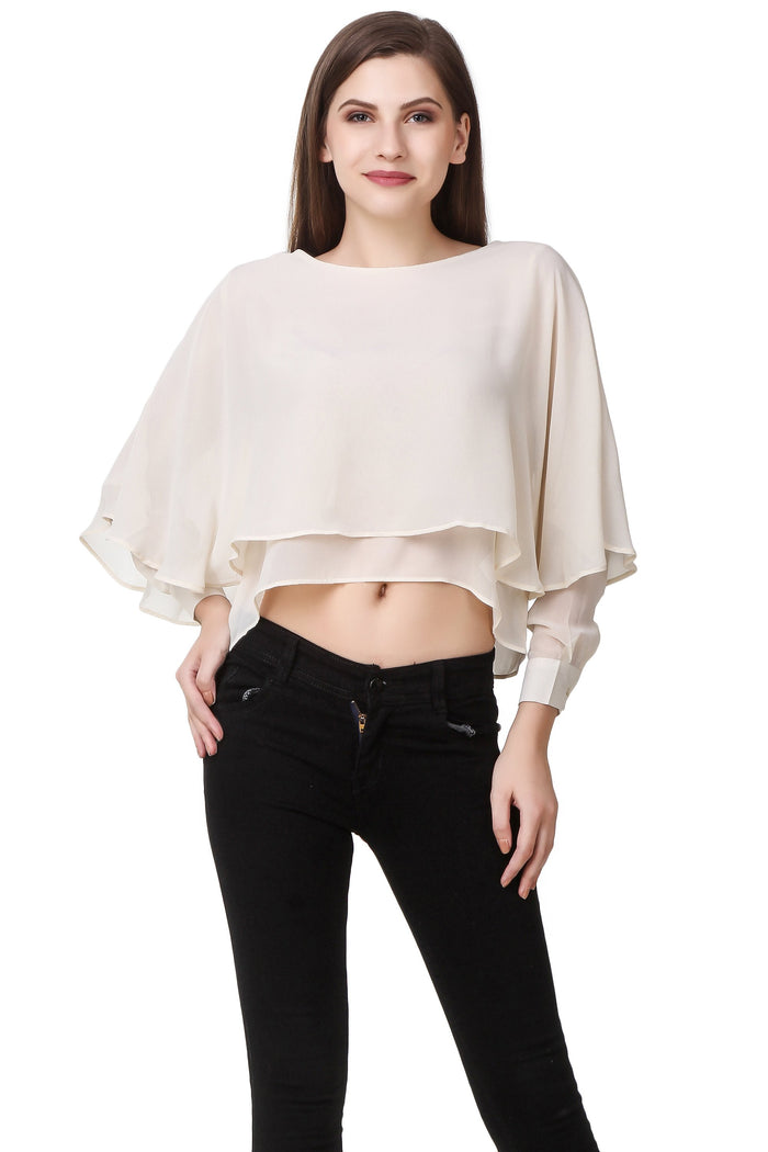 Full sleeve low high crop - Mistics
