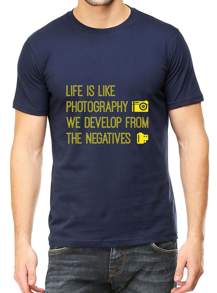 Life Is Photography T-Shirt - Mistics