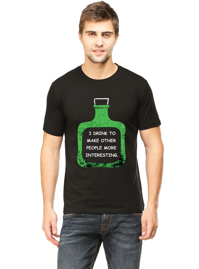 Make People Interesting T-Shirt - Mistics