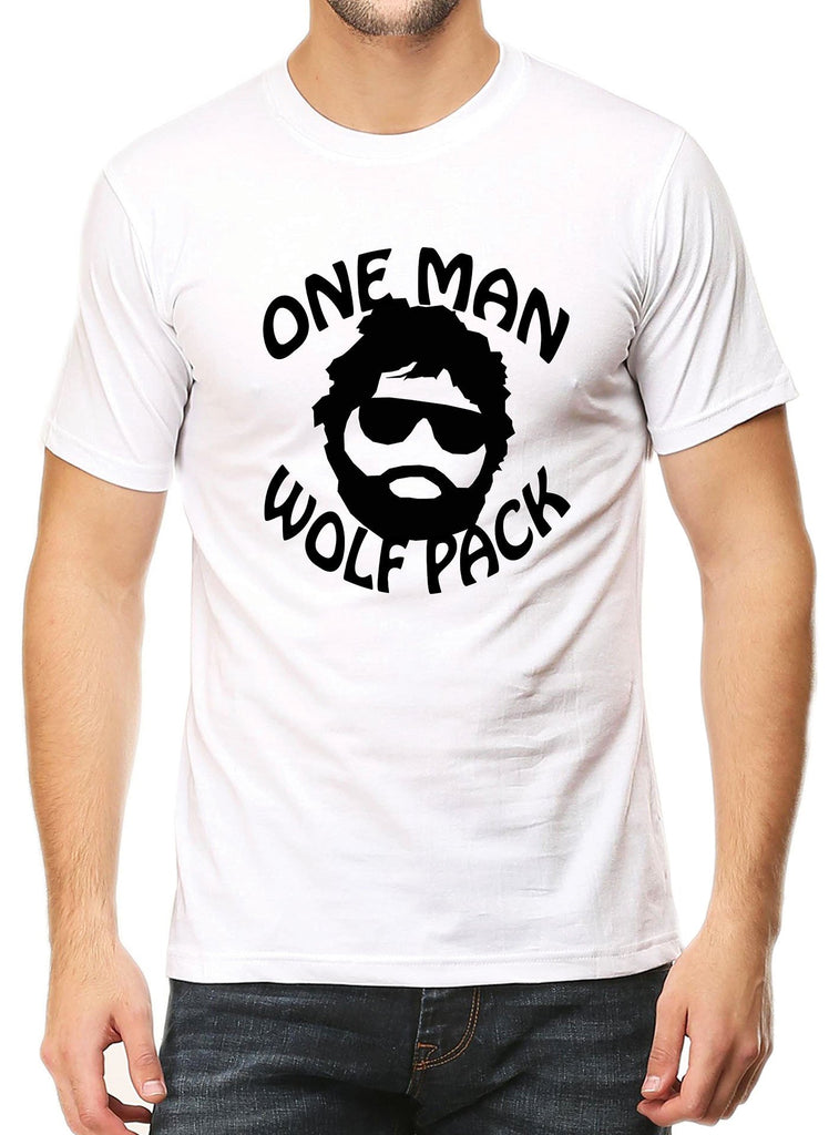 One Man Wolf Pack T-Shirt - Mistics