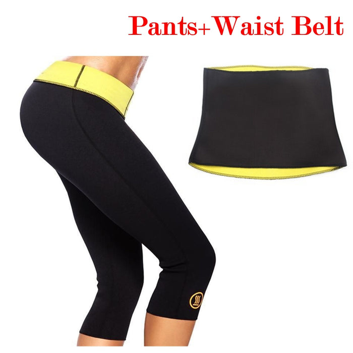 Combo Hot Shaper Pants & Belt For Women - Mistics