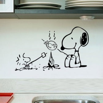 Barbecue Wall Stickers - Mistics